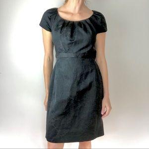 ELIE TAHARI Cap sleeve sheath dress